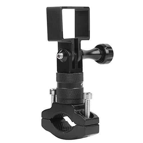 Easy to Store and Carry Black 360 Degree Rotating Bracket Motorbike Handlebar Bracket Small Size Handlebar Bracket for Osmo Pocket ballhead Camera