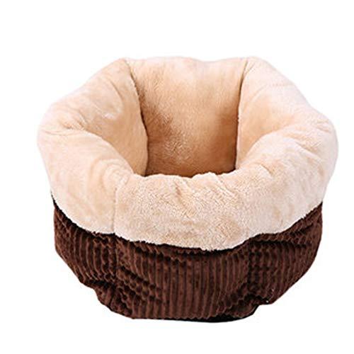 Huisdier Bed Dierlijke Slaapzak Kat Bed Hond Bed Warm Winter Anti-lip Warm Wasbaar, Pluche Gecapitonneerde Zacht Comfy, Vier Seizoenen Universeel S BRON