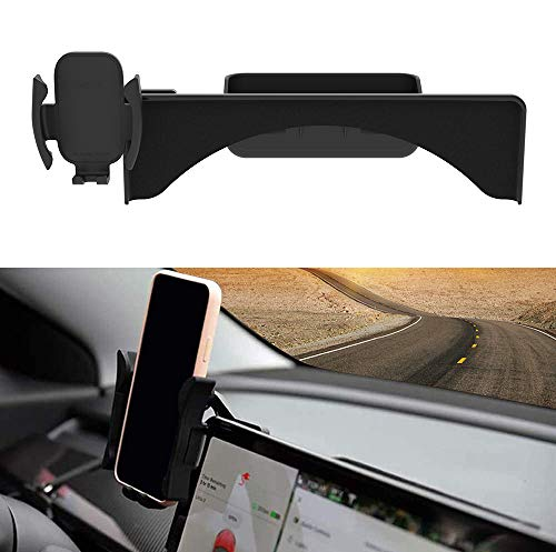EVAUTO Tesla - Soporte de pantalla para smartphone de 5,5 a 7,1 pulgadas