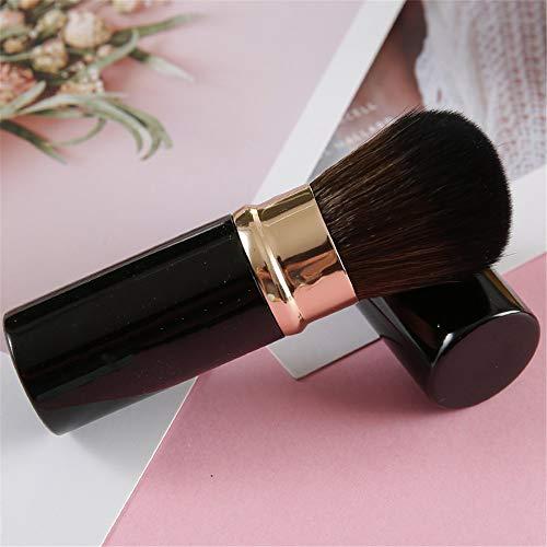 CGQPoudre saupoudrée épousseté blush brush maquillage maquillage réparation poudre brush brush maquillage, or noir