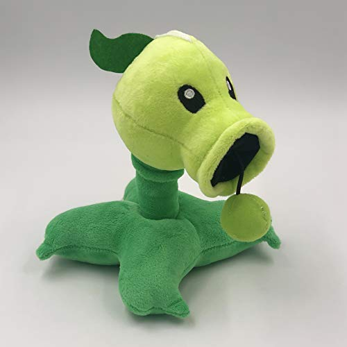 TavasHome Plants vs. Zombies 2 PVZ Figures Plush Toy, Stuffed Soft Toys Doll Gift for Game Fans, Peashooter