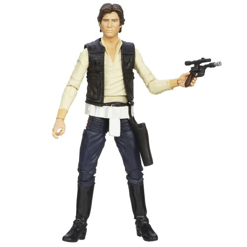 'Star Wars' [Hasbro Action Figure] 6 inches 'black' # 08 Han Solo (japan import)
