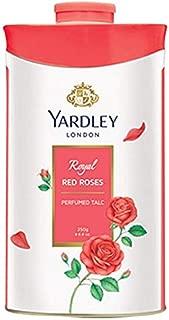 Yardley London Royal Red Rose Talc for Women, 250g