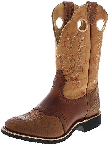 FB Fashion Boots Boulet Herren Cowboy Stiefel 6271 EEE Westernreitstiefel Lederstiefel Westernstiefel Braun 41 EU