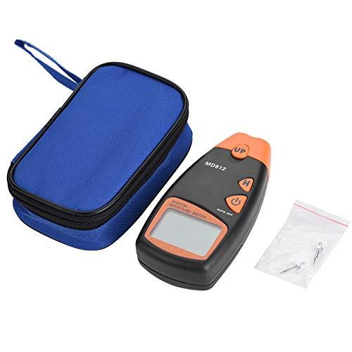 Digitale vochtmeter, vochtmeter voor hout, 2/4-pins hygrometer, LCD-display, voor het meten van bamboe- of houtwater, katoen, papier, kruidengeneeskunde, gips