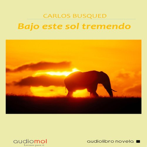 Bajo este sol tremendo [Under this Tremendous Sun] audiobook cover art