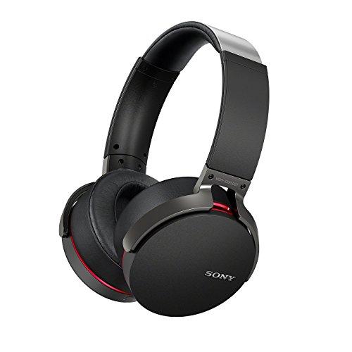 Preisvergleich Produktbild Sony MDR-XB950BT Premium Xtra Bass Kopfhörer mit Bluetooth und NFC - Schwarz