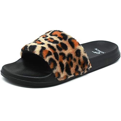 Zapatillas de estar por casa para mujer de COFACE Eva, antideslizantes, para exterior/interior, en 5 colores, color, talla 42 EU