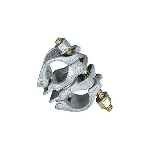 25 Stk. Gerüstkupplung Drehkupplung Stahl SW 22 für Verbindung 48/48mm mit Prüfzeichen