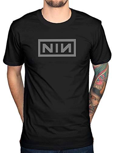 AWDIP Ufficiale Nine inch Nails Classic Grey Logo T-Shirt
