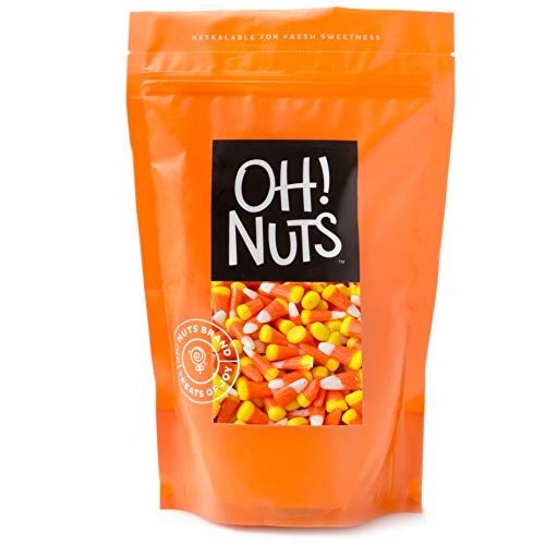 Oh! Nuts Candy Corn Gourmet Easter Treats & Classic Halloween Candy | Old-Fashioned Retro Sweets, Kosher Dragon Teeth | Resealable Bulk Fresh Bag (24 Oz.) | Fun & Festive Holiday Snacking