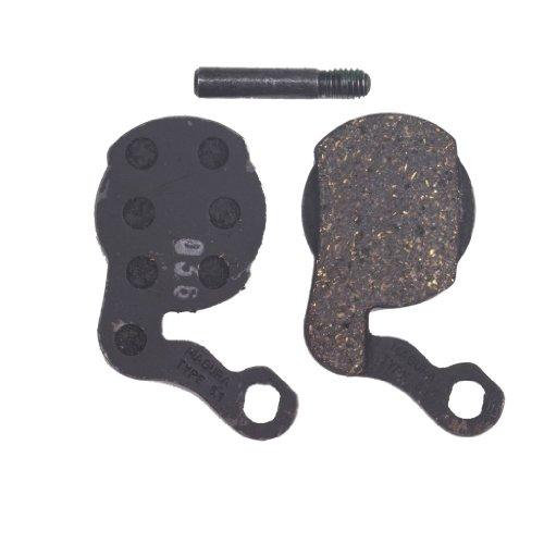 Magura Unisex– Erwachsene Typ 6.1 Performance Bremsbelag, Silber, Ohne Size