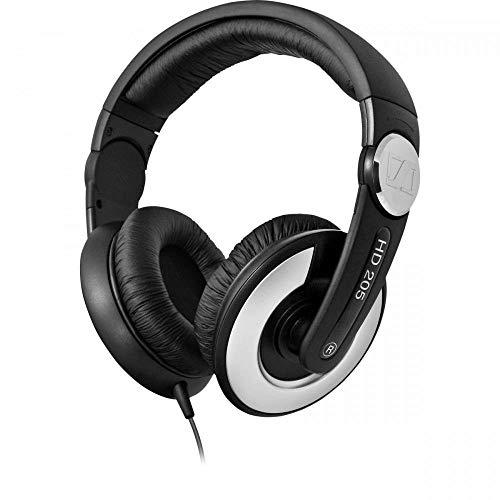 Sennheiser HD 205 II Stereo-Kopfhörer geschlossen schwarz