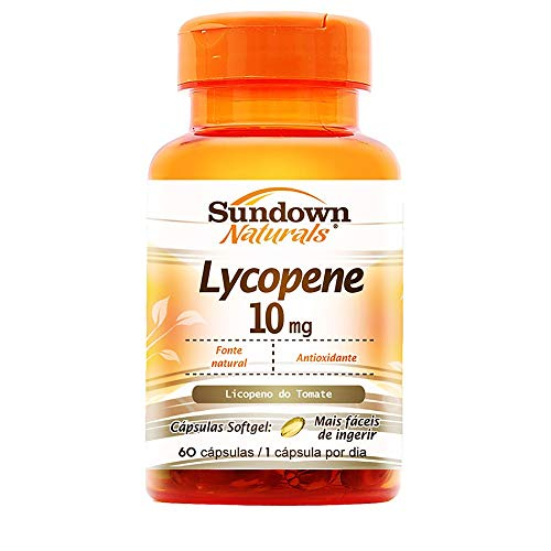 Licopeno 10mg - 60 Cápsulas, Sundown Naturals