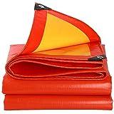 Lona resistente al agua resistente Camuflaje lona impermeable protector solar tela impermeable de tela Oxford Ultra luz al aire libre de la selva visera canvas (Size : 2.8X5.8M)