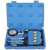 FreeTec Coffret de compressiomètre, Set de compresseur Testeur de compression pour Moteur Essence 0 - 300 PSI / 0 - 20 Bar