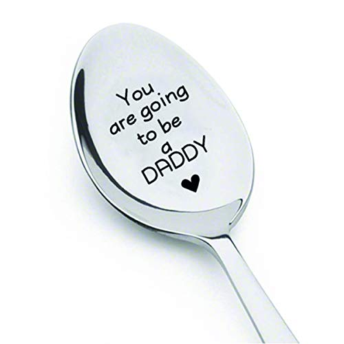 You're Going To Be A Daddy Spoon- Pregnancy Reveal Spoon