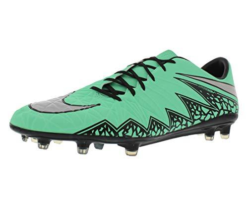 Nike Hypervenom Phatal II FG, Botas de fútbol para Hombre, Verde/Plateado/Naranja (Grn GLW/Mtllc Slvr-Hypr Orng-B), 45 EU