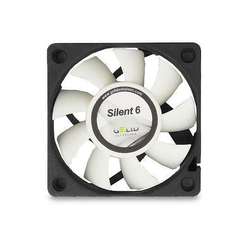 Gelid Solutions Silent 6 - Ventilador de caja silencioso (60 x 15 mm)