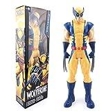 EASTVAPS 30CM Wolverine X-Men Avengers Figura de acción superhéroe