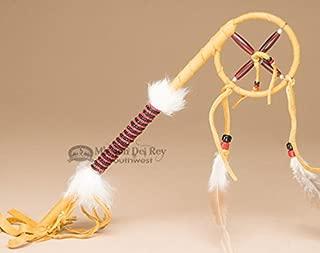 Native American Navajo Medicine Wheel Talking Stick 12