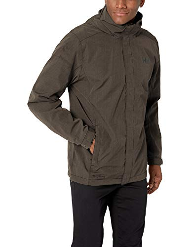 Helly Hansen Dubliner Jacket Tuta Sportiva, Verde (Verde Oscuro 483), XX-Large (Taglia Unica: 2XL) Uomo