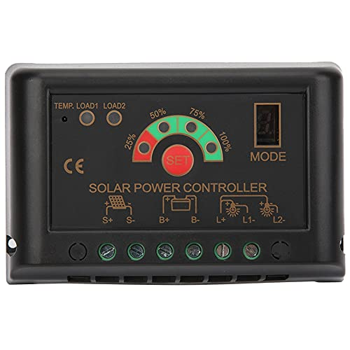 Cargador de batería del regulador de la protección de la sobrecarga para el cargador de energía solar (JN-S 10A)
