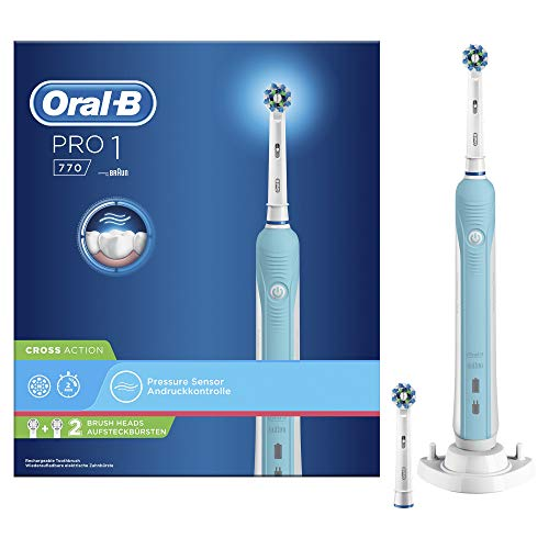 Oral-B PRO 770 CrossAction - Cepillo de dientes eléctrico (Batería, Integrado, CrossAction),...