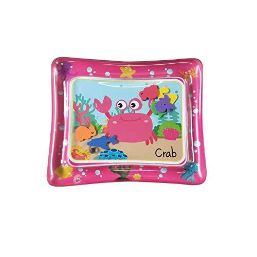 Romote 1 Stück Aufblasbare Wasserspielmatte Pad Leakproof Wasser gefüllt Fun Kissen Spielzeug Matratze Playmat Bauch-Zeit-Baby-Spielzeug...