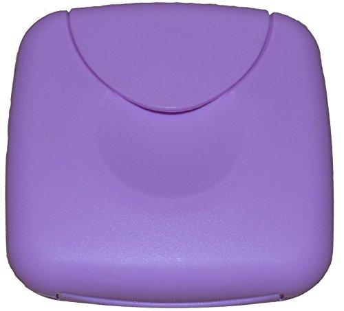 Tampon Aufbewahrung / Tampon Box / Dose für Tampons, Kondome oder Pflaster - Binden und Slipeinlagen (Flieder)