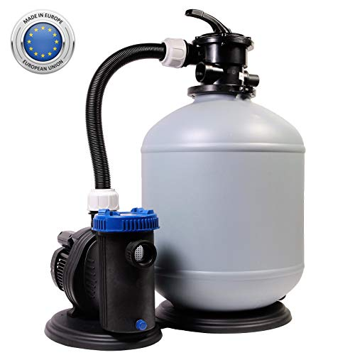 Sandfilteranlage 470/12 Pool Schwimmbecken Sand Filter Filteranlage Pumpe 12m³/h SHOTT International
