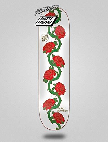 SANTA CRUZ Dressen Rose Vine Powerply 8.5x32.2 Monopatín Skate Skateboard Deck