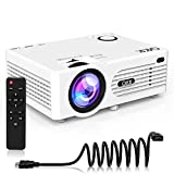 QKK [2020 Upgrade 4200Lux] Potable Mini Projector [with Tripod] LED Projector Full HD 1080P...