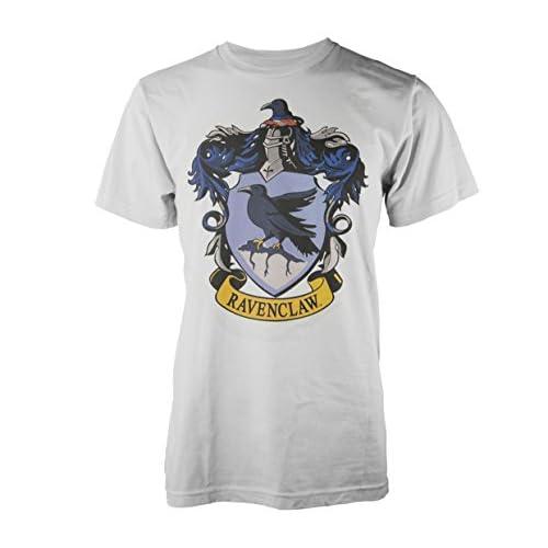 Playlogic International(World) Harry Potter Ravenclaw T-Shirt, Bianco (White), L Uomo