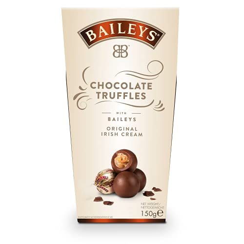 Baileys Chocolate Truffles | einzeln verpackte Pralinen | Pralinen Geschenk | gefüllt mit Baileys Likör | 1 x 150g