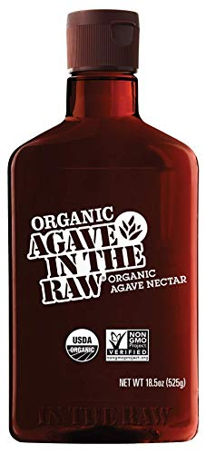AGAVE IN THE RAW, Organic Agave Sweetener, 18.5 OZ. Bottle (1 Pack)