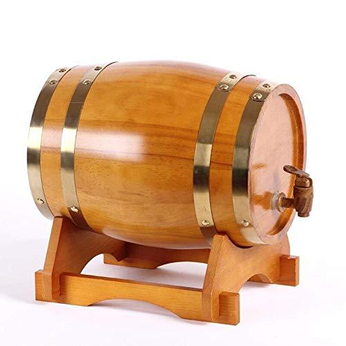 American Premium Wood Oak wijnvat, speciaal houten wijnvat Dispenser bewaaremmer biervaten voor whisky aging barrel Bier Rum Port 5L B