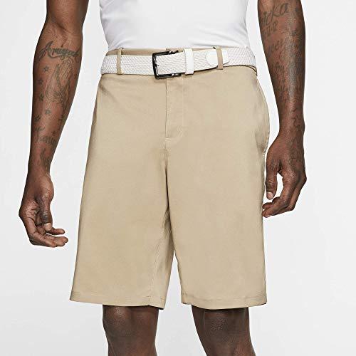 Nike Men's Core Flex Shorts, Dri-FIT Men's Golf Shorts with Sweat-Wicking Fabric, Khaki/Khaki, 32