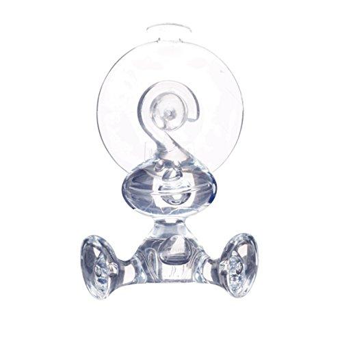 koziol Moritz Wandhaken, Kunststoff, transparent klar, 3 x 3.4 x 8.69 cm