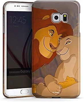 DeinDesign Coque Compatible avec Samsung Galaxy S6 Edge Plus Étui Housse Le Roi Lion Disney Amour