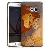 DeinDesign Coque Compatible avec Samsung Galaxy S6 Edge Plus Étui Housse Disney Le Roi Lion Roi Lion