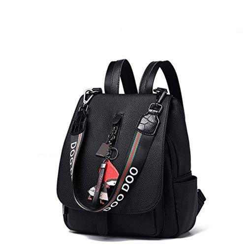 Zhongshanshiyoukeshidian reisrugzak, studentenrugzak, outdoor sportrugzak | elegante damesrugzak (zwart)