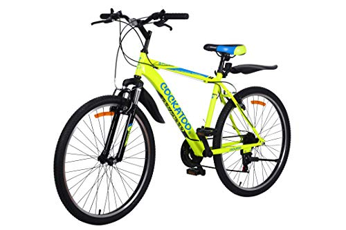 Cockatoo CBC-05 Elite Series 26T & 21 Speed Carbon Steel Mountain Bike,Cycle (2 Year Warranty)