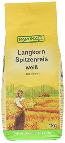 Rapunzel Langkorn Spitzenreis, weiß, 2er Pack (2 x 1 kg)