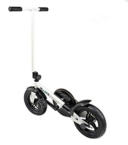 Micro pedalflow Klappfahrrad ohen Sattel Farbe schwarz