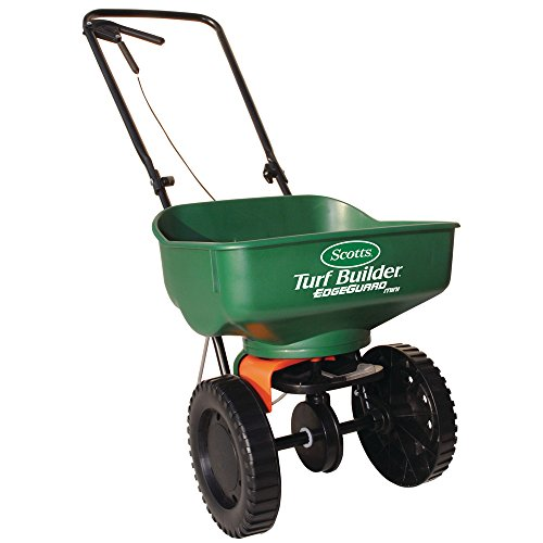 Lowest Prices! Scotts Turf Builder Edge Guard Mini Broadcast Spreader (Case of 3)