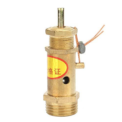 G1 / 2 Druckluft Kompressor-Sicherheitsventil Messing für Kessel Dampferzeuger(10 kg Druck)