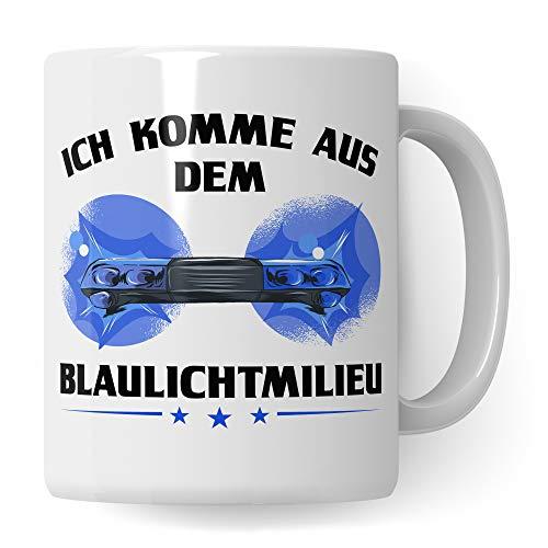 Pagma Druck Polizei Tasse, Polizist Geschenk, Becher Geschenkidee für Polizisten Kaffeetasse, Ausbildung Streifenpolizist Kripo Beamter Police Kaffeebecher lustig