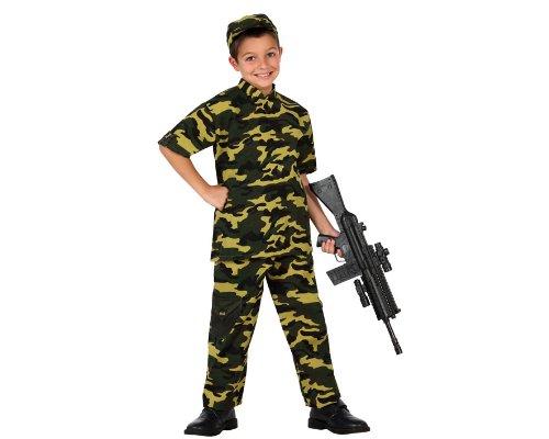 Atosa - Disfraz de Rambo para niño, talla 5-6 años (23869)