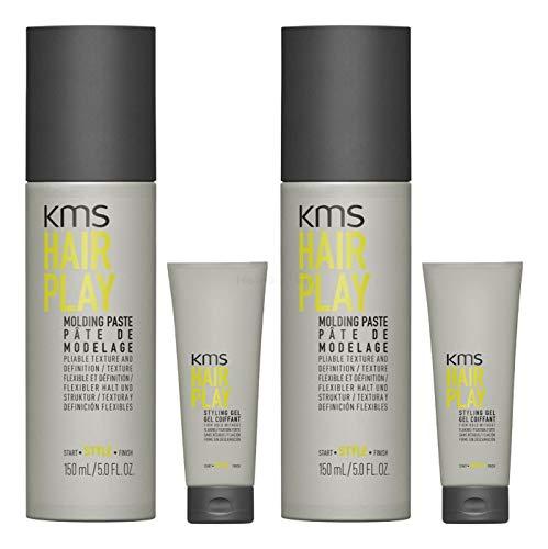 KMS California HAIRPLAY Molding Paste 2% 2x 150ml + 2x 20ml = 340ml - NEU